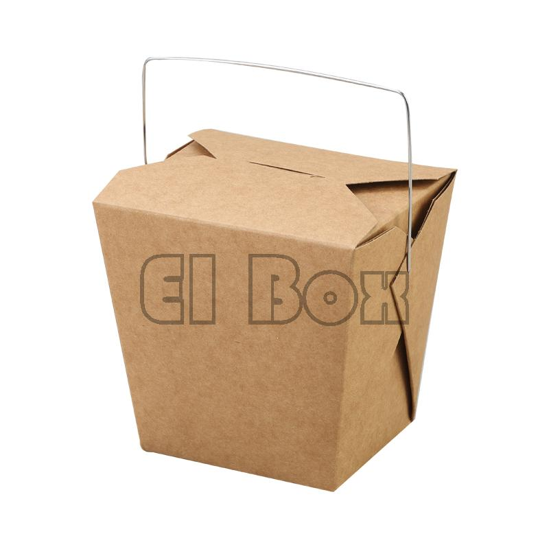 7151c80e61f Kraft Hot Food Boxes Noodle Boxes Food Pails Kraft Noodle Boxes Chinese  Take Out Containers