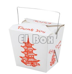 Red Pagoda Noodle Boxes 16oz/26oz 500pcs/case